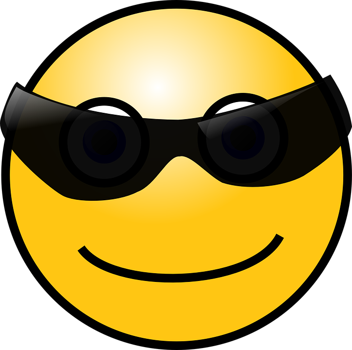 Smiley, Sunglasses, Face, Chat, Crazy, Faces