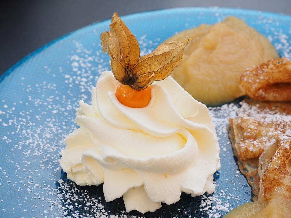 Cream, Cream Haeuchen, Dessert, Delicious, Sweet