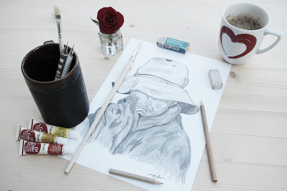 Drawing, Art, Creative, Painter, Hobby, Artistic