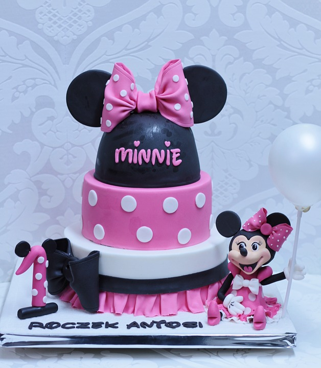 Cake One Year Old Birthday Decoration Creative