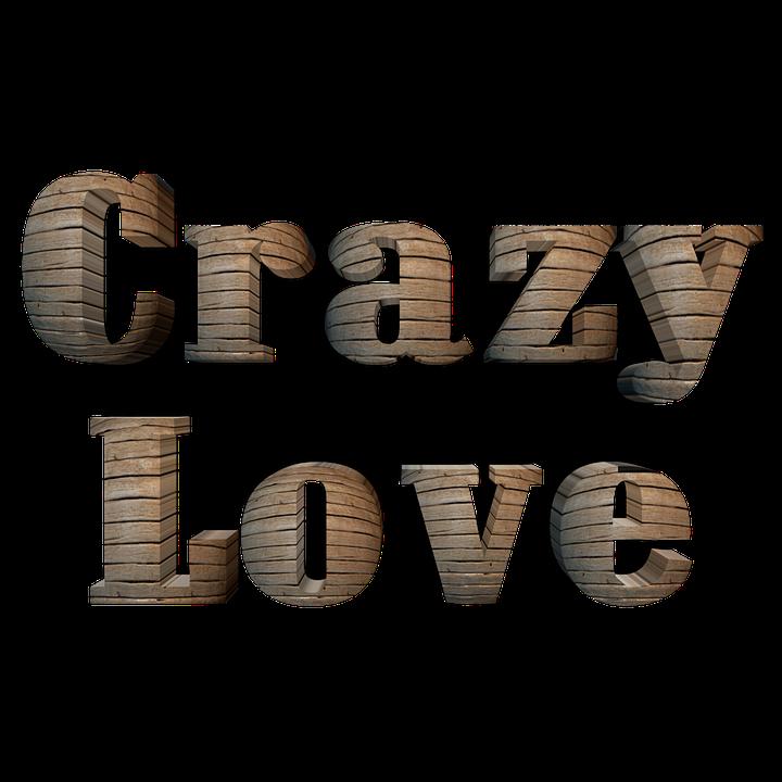 Love, Crazy, Pixabay, Wood, Texture, Design, Creative