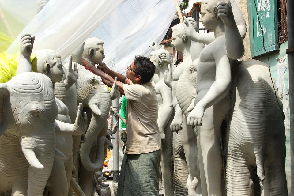 Creator, Sculptor, Artist, Sculpture, Man, Craft, Skill