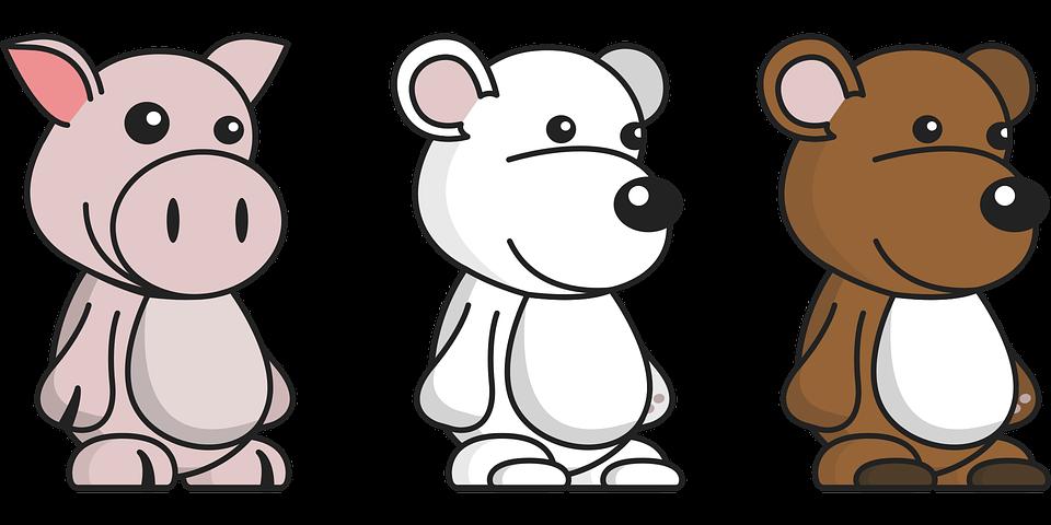 Animals, Comic, Cartoon, Character, Creature, Graphic