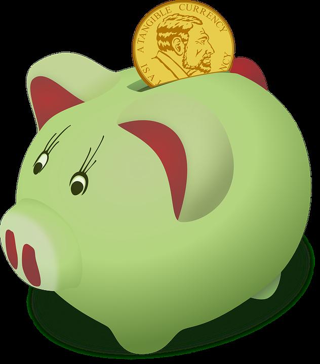 Moneybox, Pig, Piggy, Saving, Bank, Cash, Coin, Credit