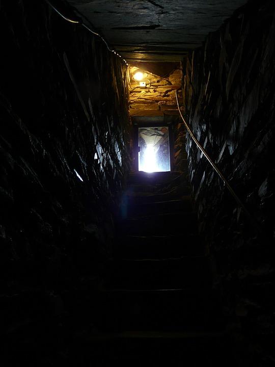 Cellar Outlet, Gang, Dark, Creepy, Gloomy, Risk