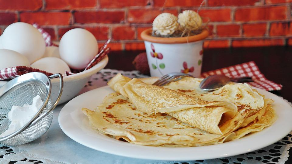 Pancakes, Pancake, Crepe, Süsspeise, Egg, Bake, Cook