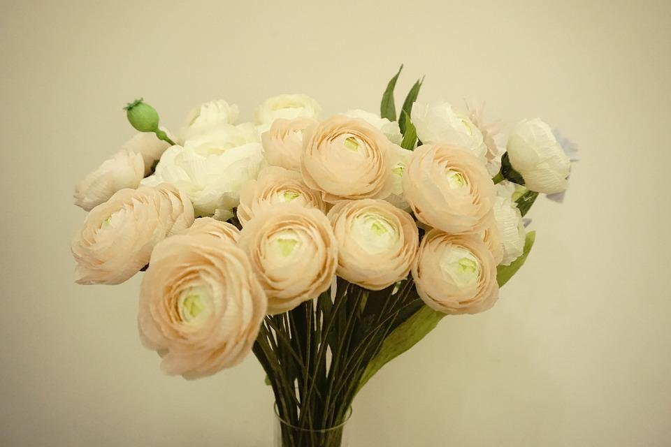 Paper Flowers, Crepe Paper Flower