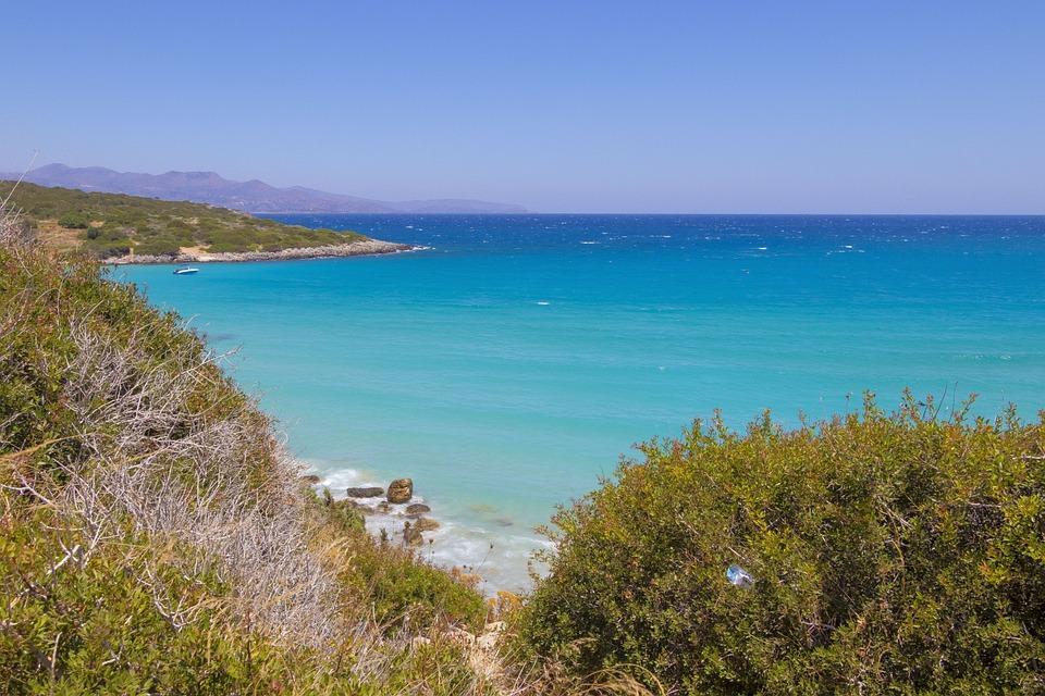 Crete, Greece, Landscapes, Holidays, Blue, Sea, Water