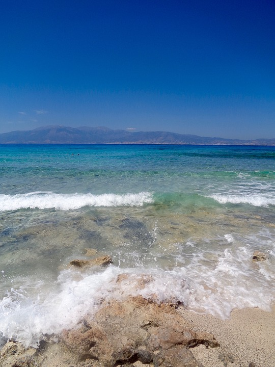 Gold, Gaidouronisi, Crete, Greece, Sea, Summer