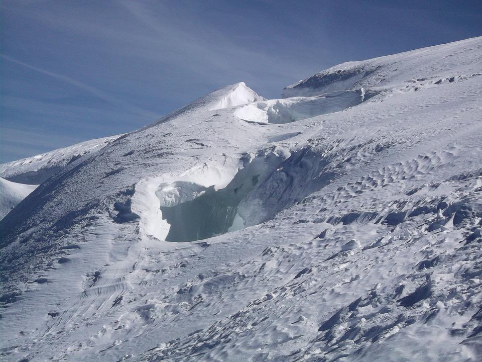 Crevasse, Mont Blanc, Snow, Alps, Blanc, Glacier, Mont