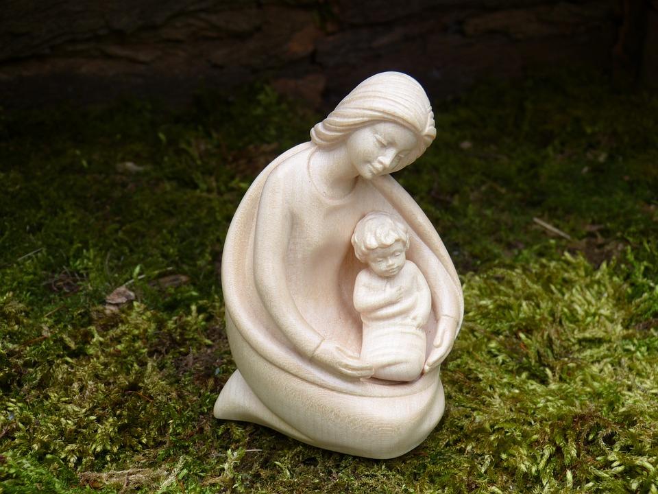 Christmas, Advent, Nativity Scene, Crib, Maria, Jesus