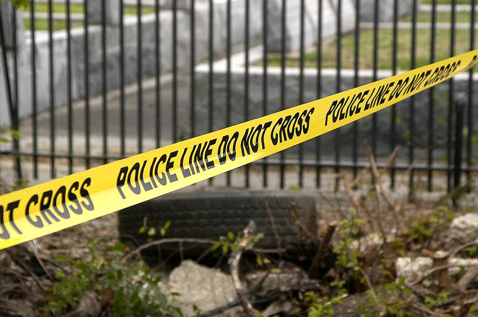 Police Line, Yellow, Crime, Cemetery, Tape, Warning