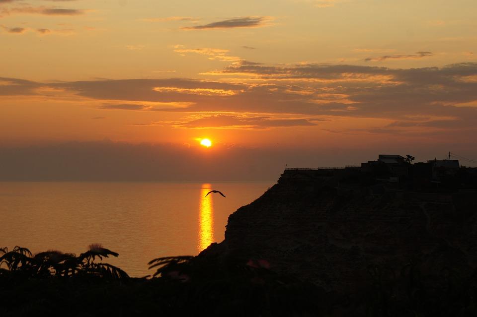 Crimea, Fiolent, Sunset