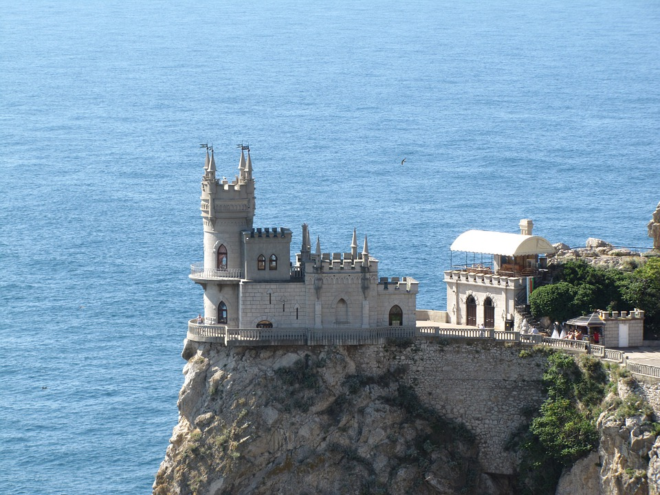 Crimea, Swallow's Nest, Black Sea