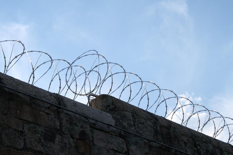 Prison, Wire, Barbed, Barbwire, Criminal, Jail