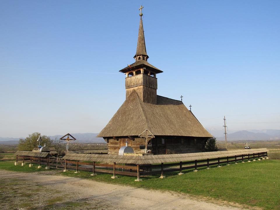 Wooden Church, Cucuceni, Bihor, Crisana, Transylvania