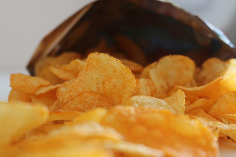 Chips, Crisps, Snack, Pepper, Potato, Fat, Mi, Carbs