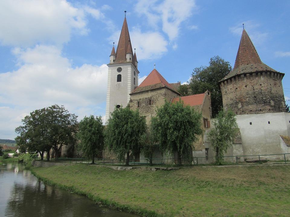 Cristian, Transylvania, Romania, Fortified Church
