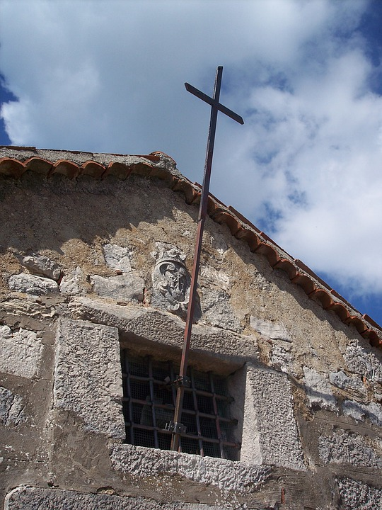 Cross, Church, Critianesimo, Stones, Italy
