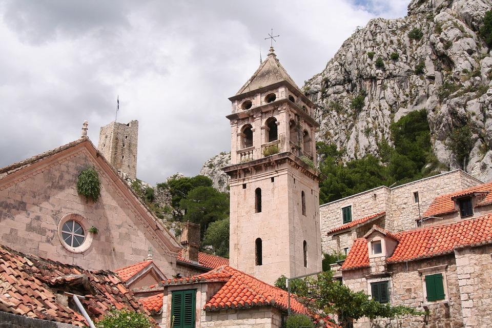 Croatia, View, Church