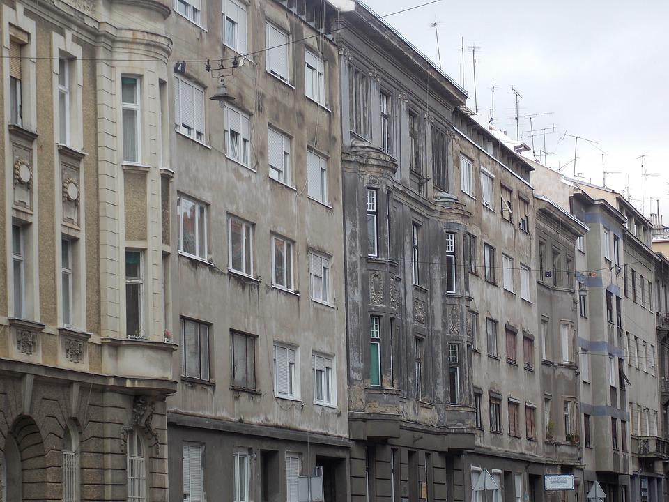 Zagreb, City, Croatia, Architecture, Building, Street