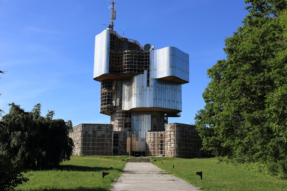 Croatia, Petrova, Gora, Memorial, Monument, Abandoned