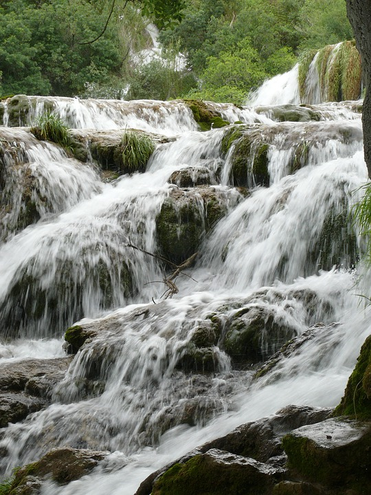 Croatia, Dalmatia Waterfalls, Nature