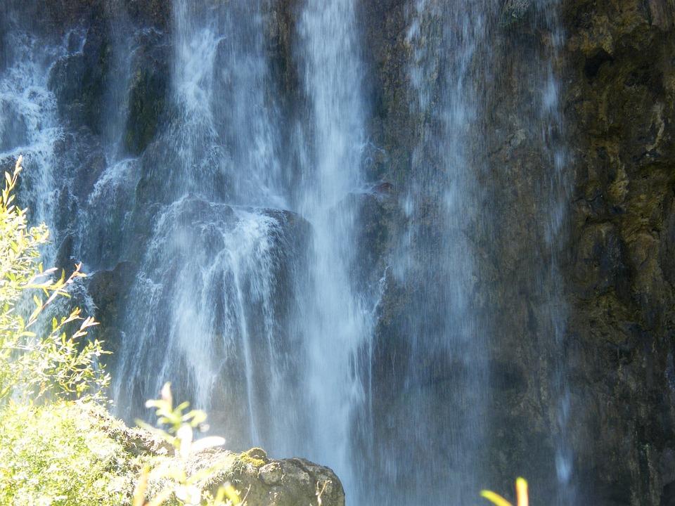 Water Wall, Spruehwaser, Waterfall, Croatia, Plittvice