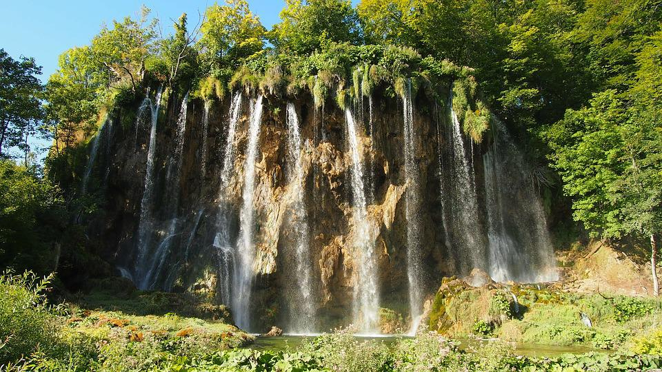 National Park, Croatia, Plitvice Lakes, Nature