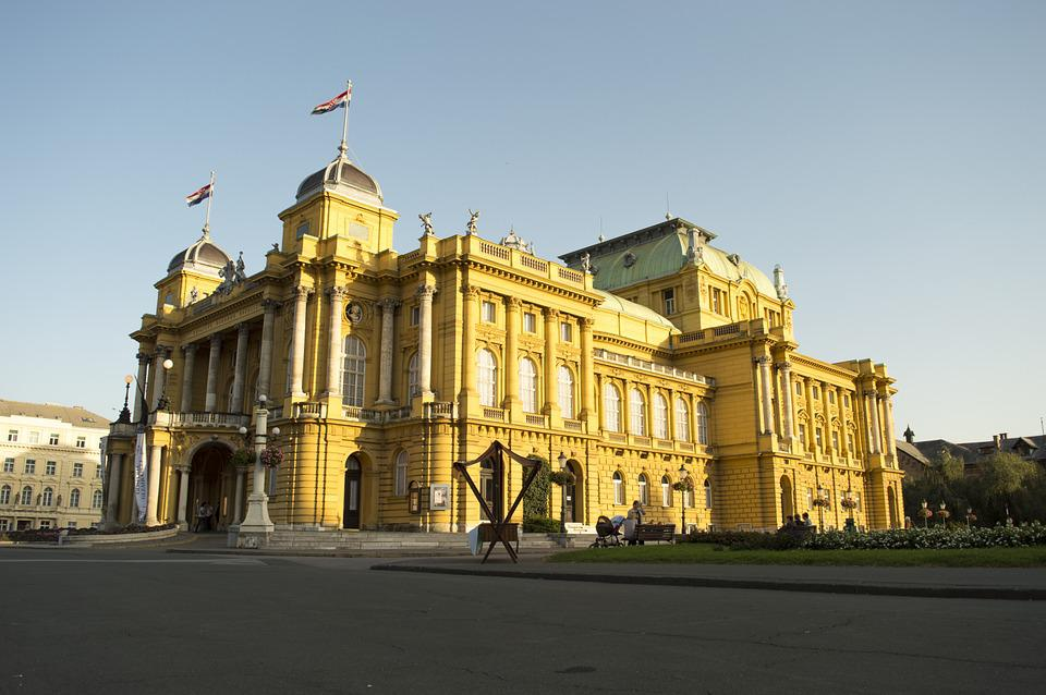 National Theater, Zagreb, Theater, Croatia, Building
