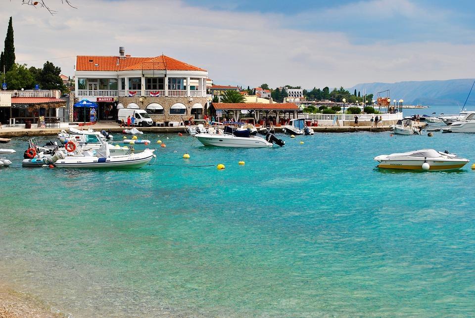 Croatian Coast, Selce, Port