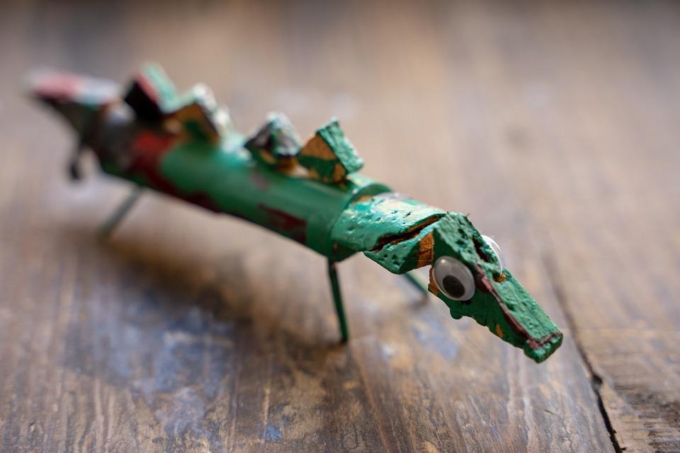 Crocodile, Self-made, Tinker, Tinkered, Children