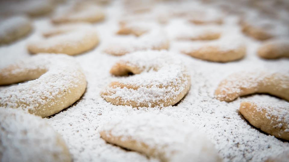 Free Photo Croissant Crescents Cookie Vanillekipferl Max Pixel