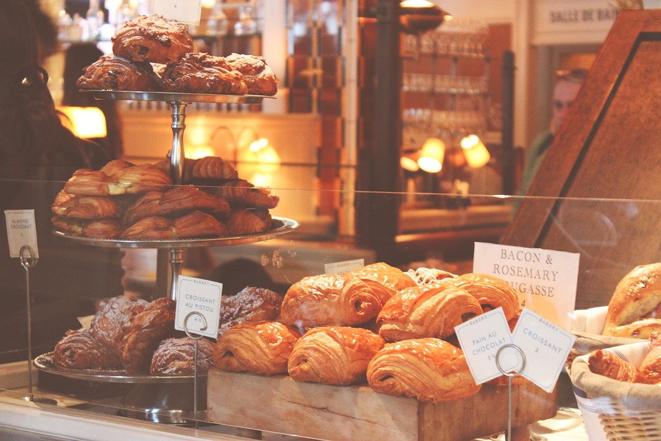 Baked Goods, Croissants, Puff Pastry, Bakery, Bread