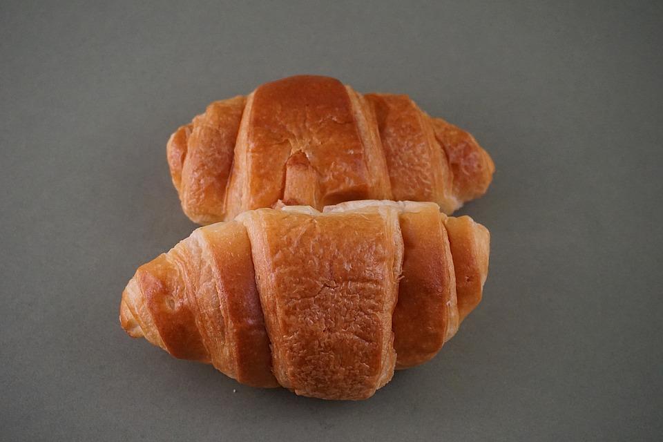 Croissants, Morning, Breakfast, Alarm Clock, Bakery