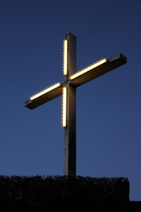Bamberg, Cross, Lighting
