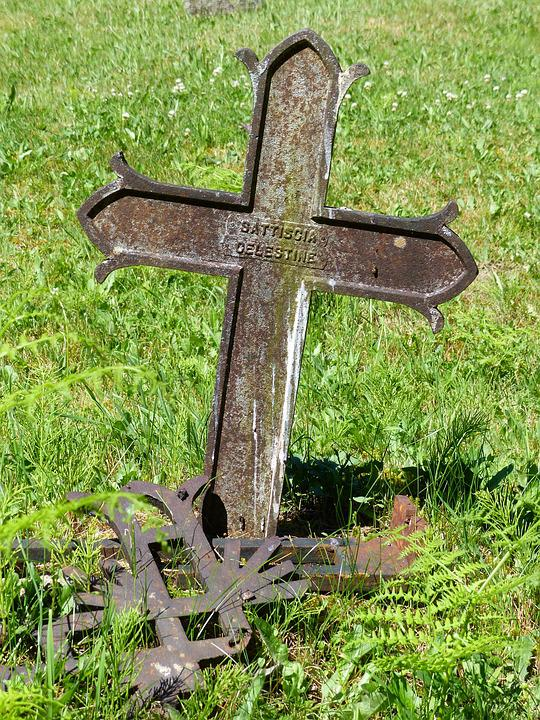 Cemetery, Cross, Burial, Death, Graveyard, Grave