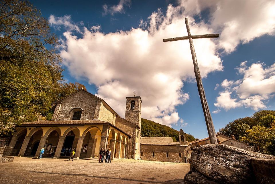 Church, Cross, Easter, Religion, Faith, Christ