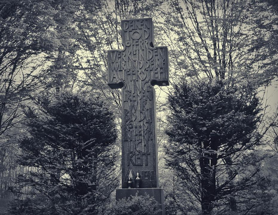 Cemetery, Cross, Old Cemetery, Christianity