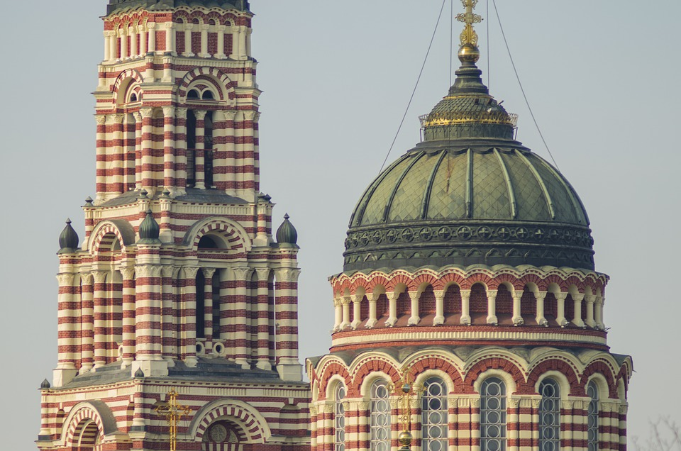 Church, Dome, Cross, Architecture, Building, Cathedral