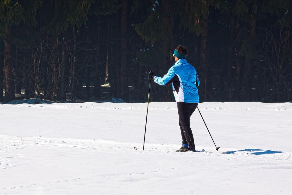 Cross Country Skiing, Woman, Fitness, Endurance, Sport