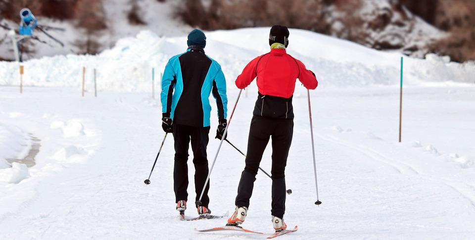 Cross Country Skiing, Cross-country Ski, Winter, Snow