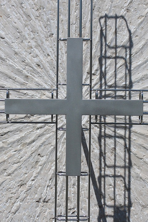 Metal Cross, Cross, Symbol, Faith, Religion, Christian