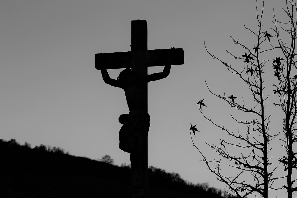 Cross, Religion, Jesus Christ, Calvary, Sky