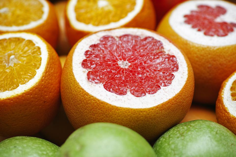 Grapefruits, Oranges, Cross Sections, Fruits, Citrus
