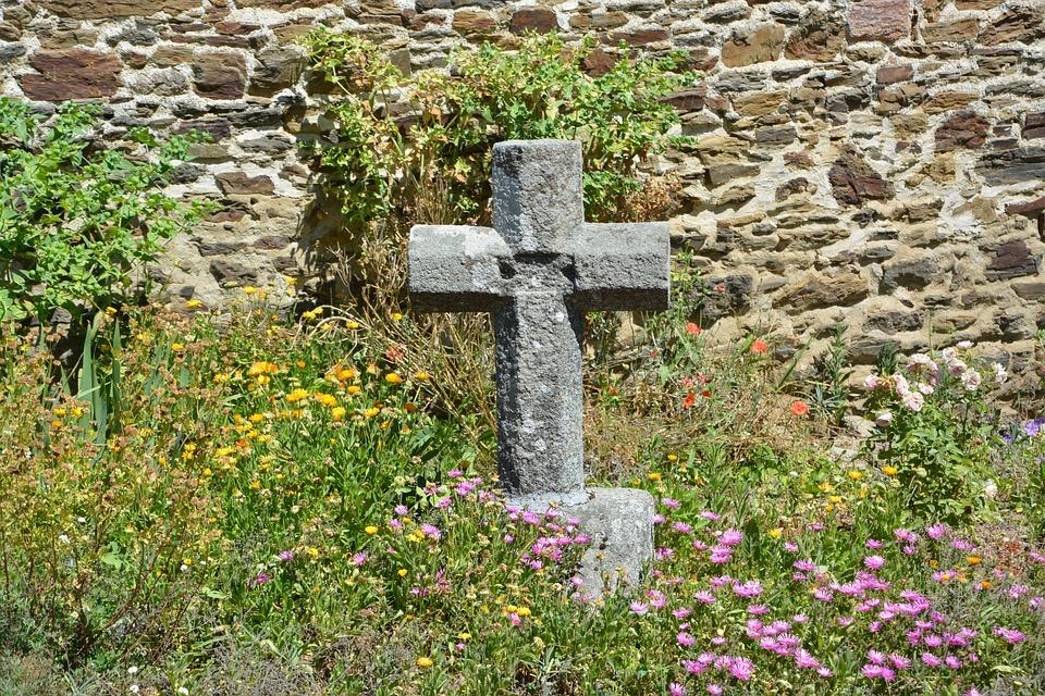 Cross, Christian Cross, Cross Stone, Nature, Belief