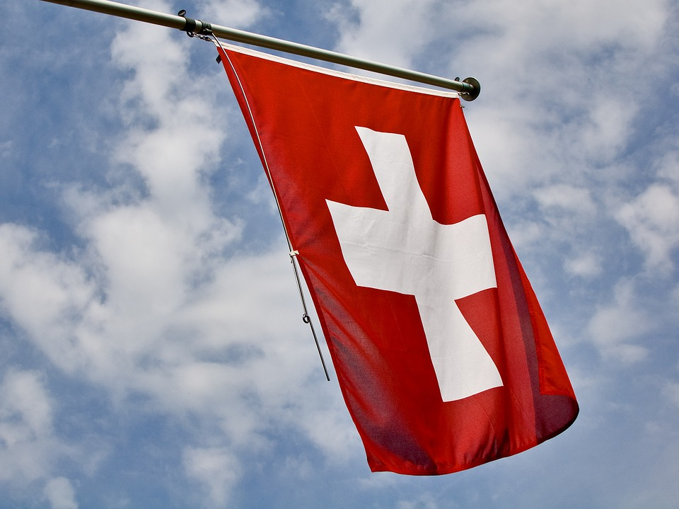 Swiss, Flag, Confederates, Switzerland, Red, Cross