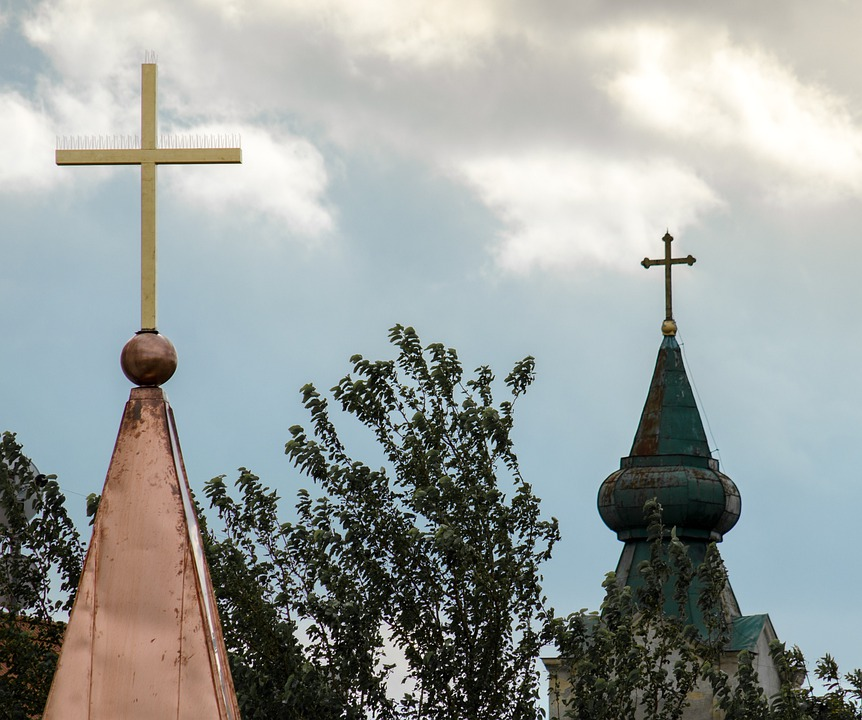 Towers, Religion, Cross