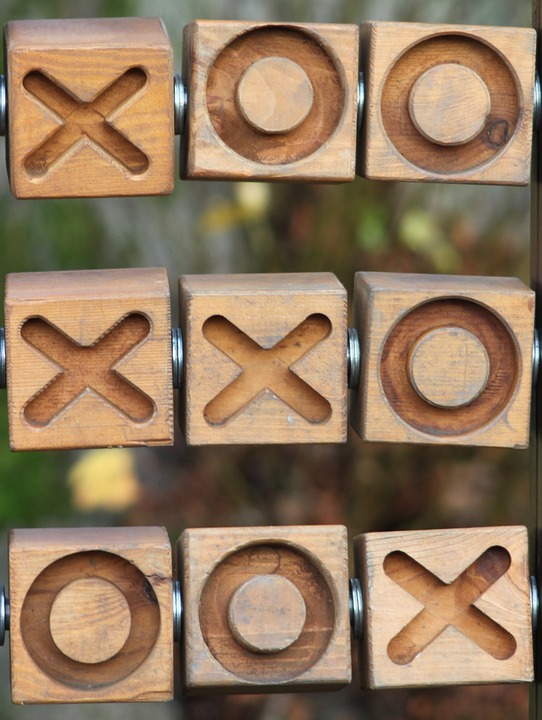 Tic Tac Toe, Noughts, Crosses, Game, Simple, Win