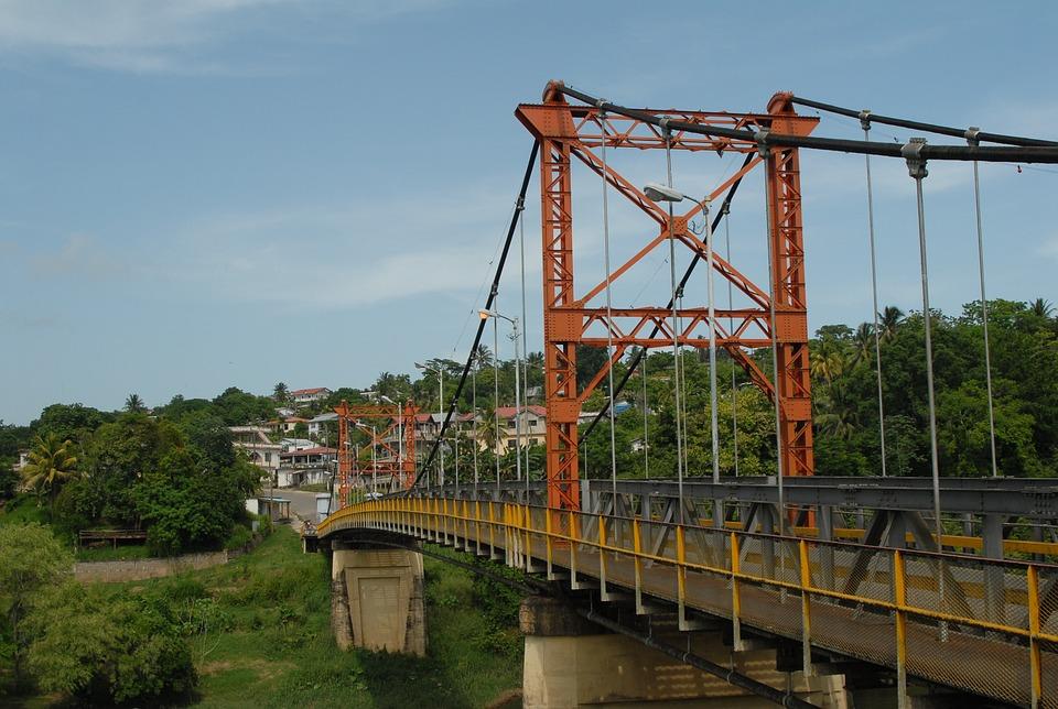 Bridge, Metal, Steel, Construction, Crossing